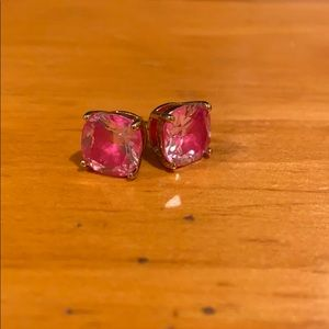 Kate Spade Pink Gum Drop Earrings